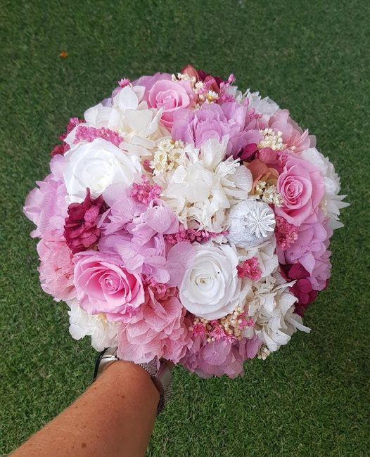 Flores desde el alma, Ramo de novia - 1