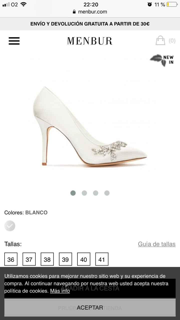 Zapatos de novia Menbur!! - 1