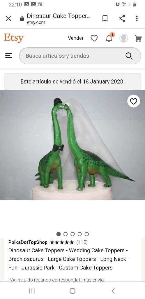 Novios pastel - 1