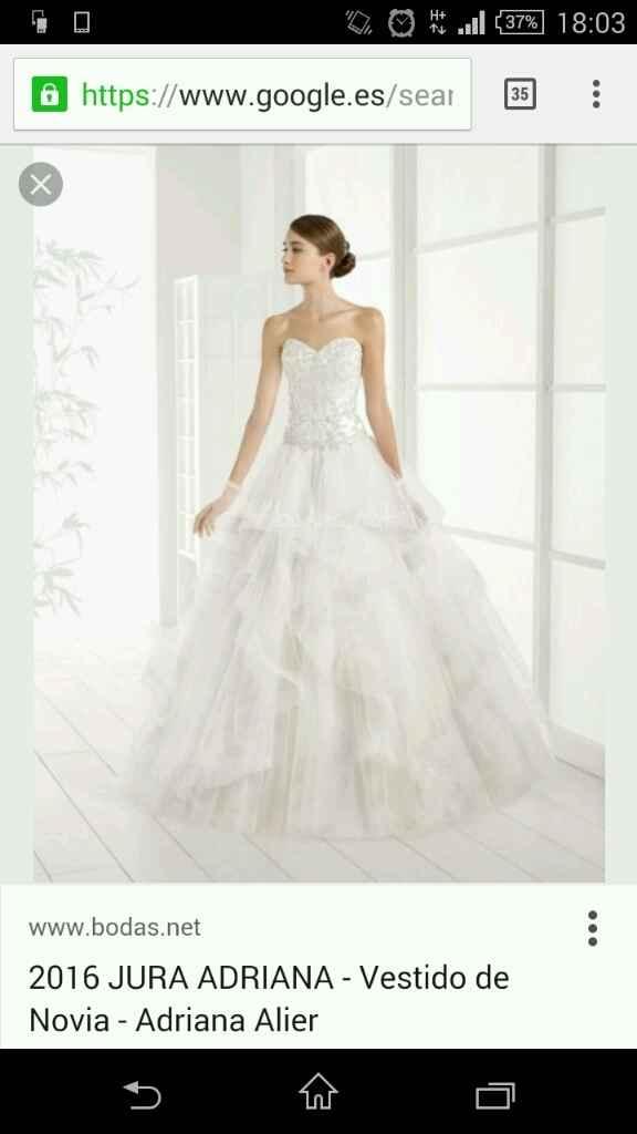 Cada día más y más enamorada de mi vestido - 1