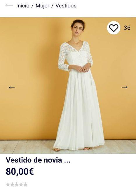 7e1e85c77 Vestido de novia low cost kiabi - Moda nupcial - Foro Bodas.net