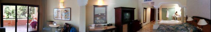 Panorámica de la habitación.