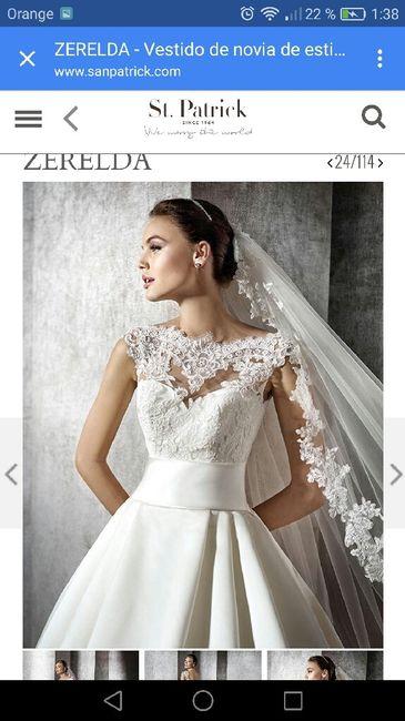 Vestidos de novia st patrick 2016 precios