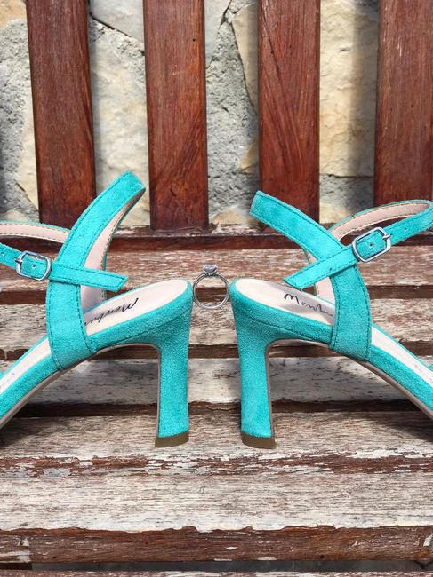 Que tipo de zapatos os vais a poner el día de vuestra Boda? 3