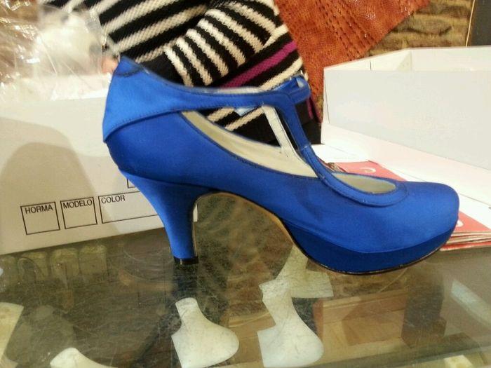 Zapatos azules?? - 1