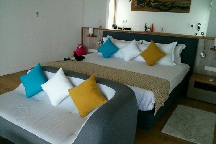 Water villa o deluxe beach villa? hotel kuramathi - 1