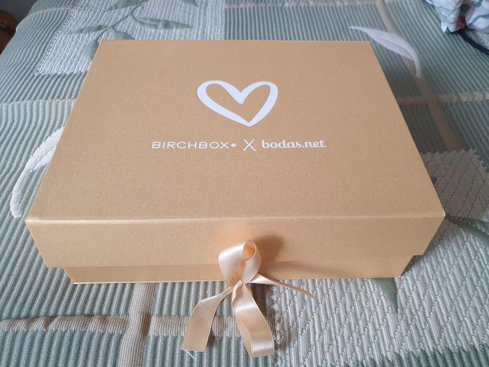Ya está aquí, ya llegó, la cajita de Birchbox!! 1