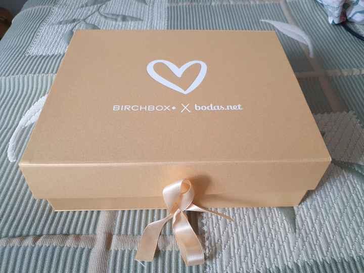 Ya está aquí, ya llegó, la cajita de Birchbox!! - 1