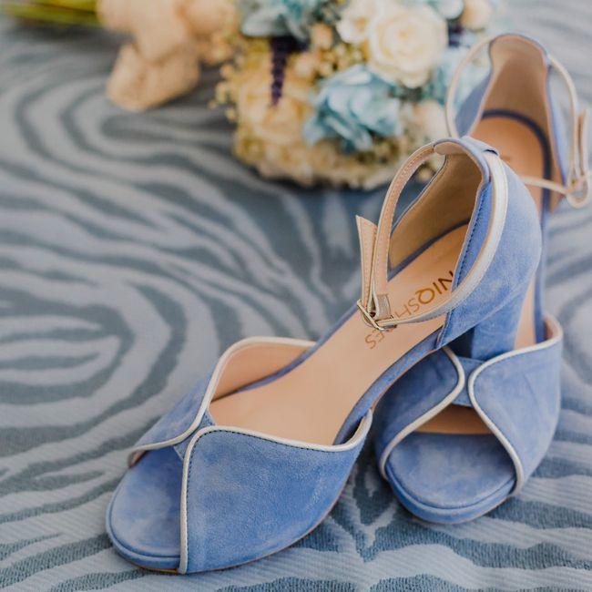 Sos zapatos azules 4