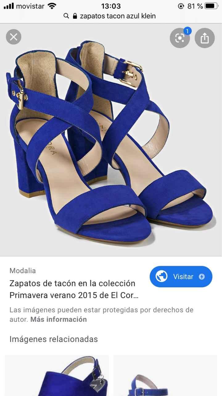 En busca y captura... de zapatos azules!! - 2