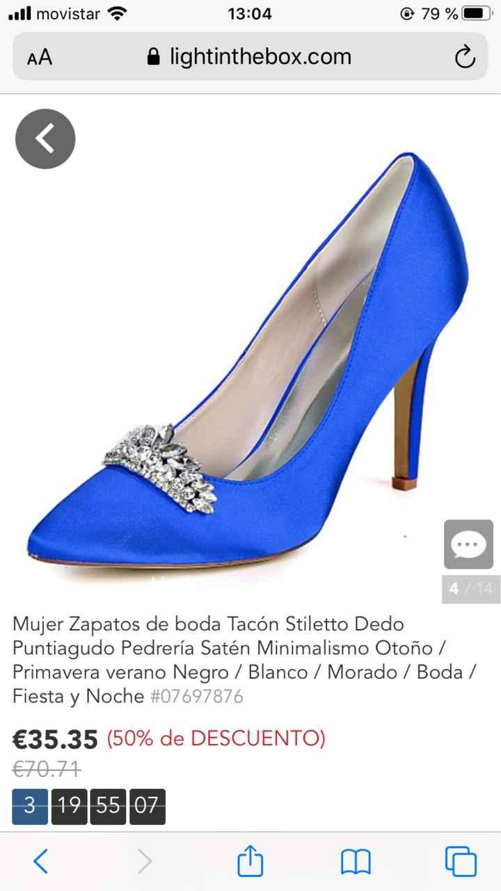En busca y captura... de zapatos azules!! - 3