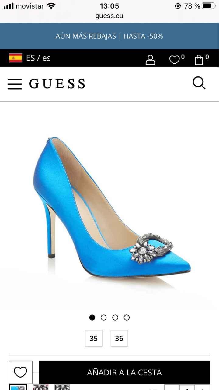 En busca y captura... de zapatos azules!! - 5