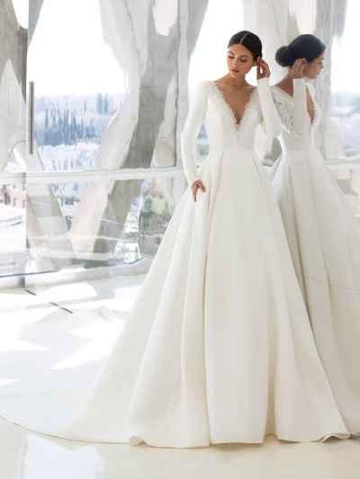 Adelanto de la colección vestidos de novia Atelier Pronovias 2021 - 1