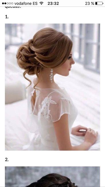peinados espalda descubierta - antes de la boda - foro bodas