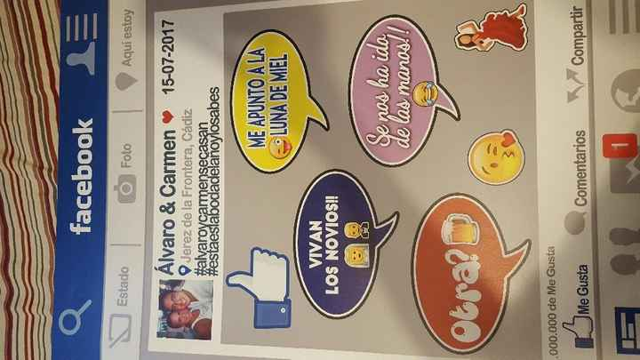 Mi marco de facebook ya en casa!!!y solo 15 euros!! - 2