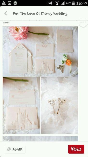 Invitaciones de boda disney organizar una boda foro - Organizar una boda ...