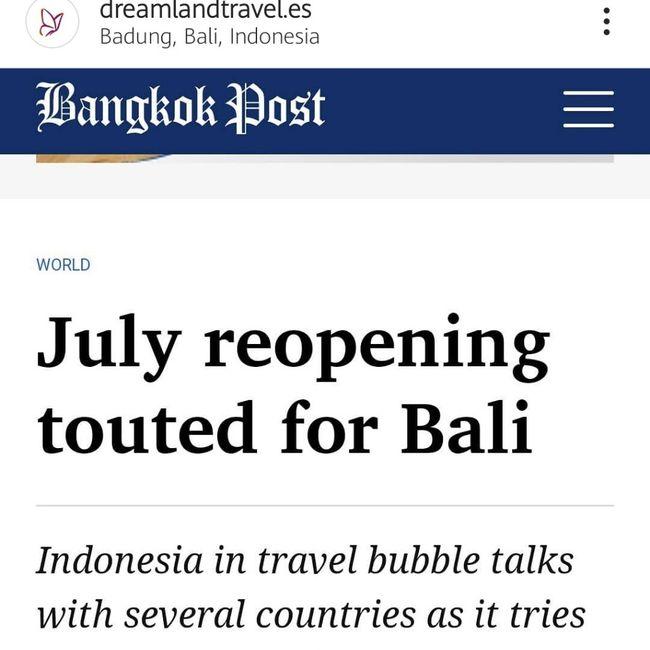 Maldivas o Bali 2021 1