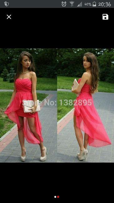 Vestido para dama de honor muy sexy !!! - 1