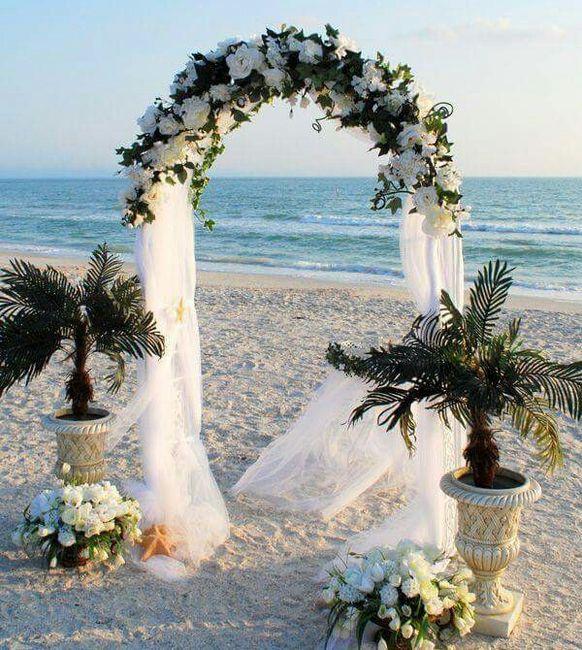 3 decos para la ceremonia de una boda minimal - 1