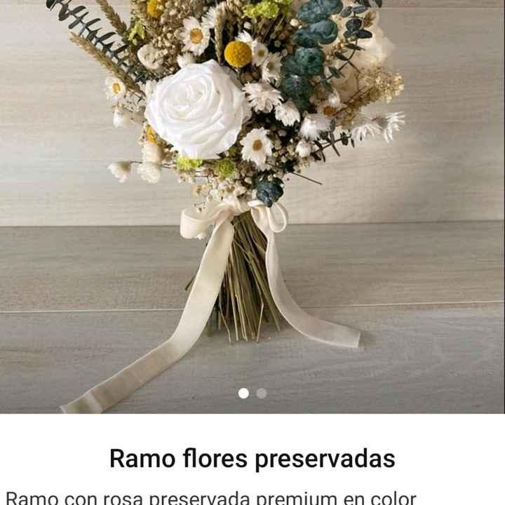 ¿Flores preservadas?. - 1