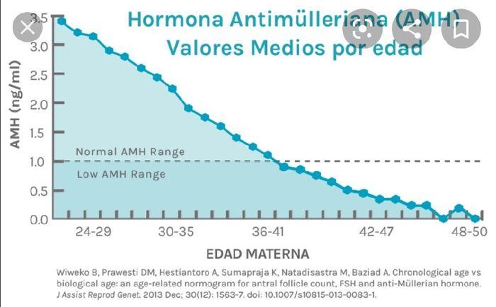 Test amh reserva ovárica muy baja con 30 años 1