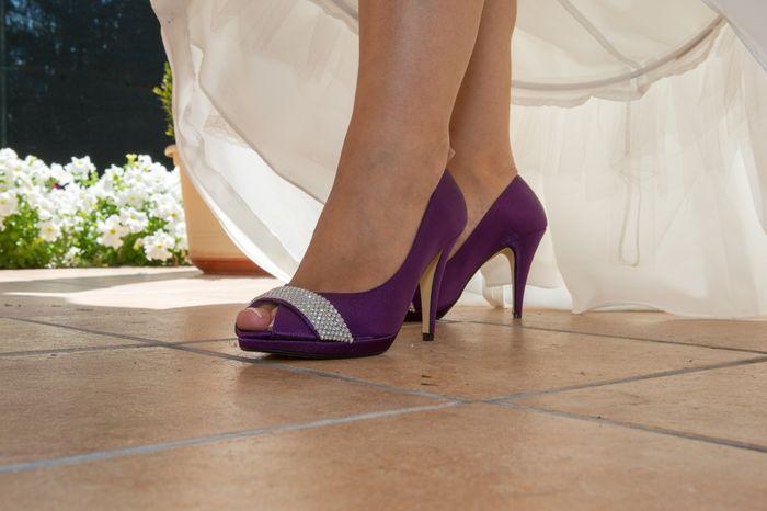 zapatos morados. - página 3 - moda nupcial - foro bodas