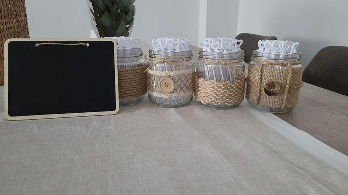 Candy Bar y decoración boda - 1