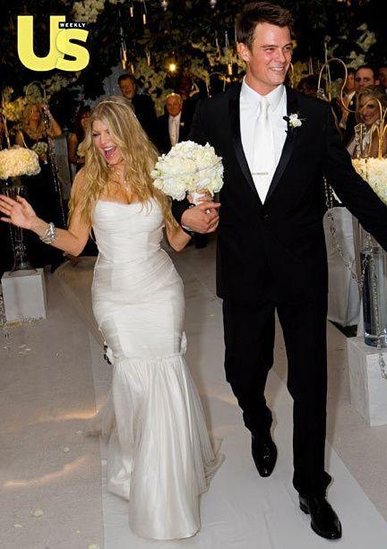 Boda de Fergie con Josh Duhamel