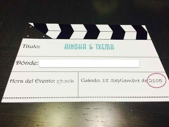 Las Invitaciones de mi Boda de Cine