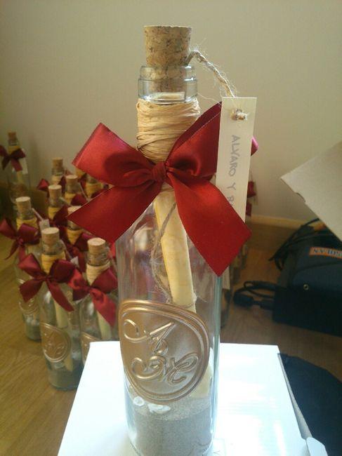 Invitaciones botella - 3