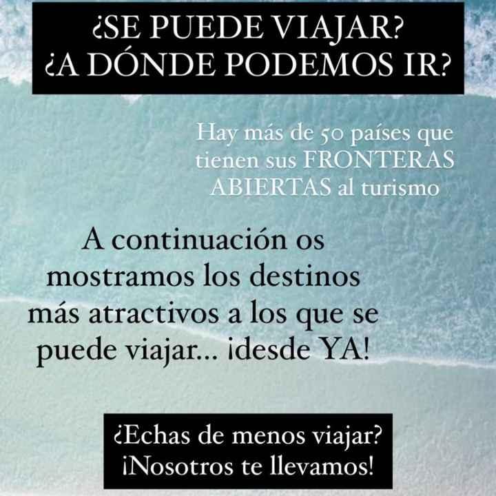 ¡Destinos con fronteras abiertas! - 1