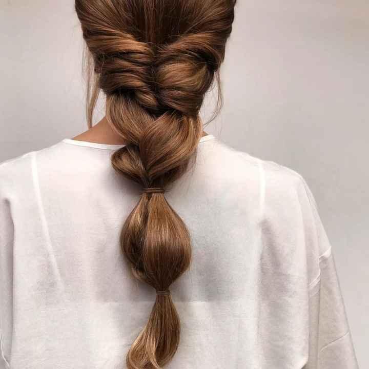ideas peinado dia b para pelo rizado - 2