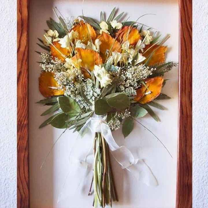 Guardar ramo de novia - 2