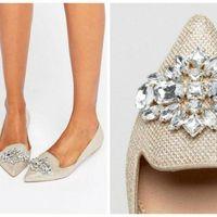 Zapatos novia planos Asos