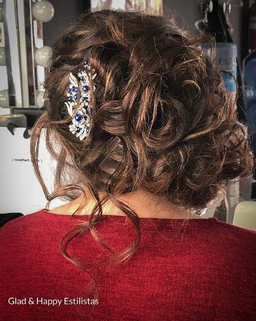 Nuestros peinados y maquillajes de novia 13
