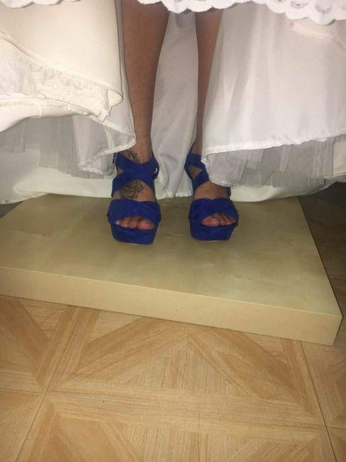 En busca y captura... de zapatos azules!! 1