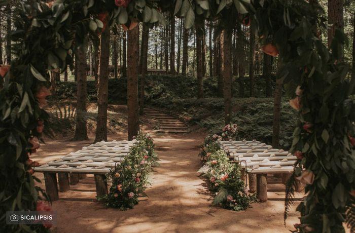 Casarse en bosque o similar cerca de madrid 4