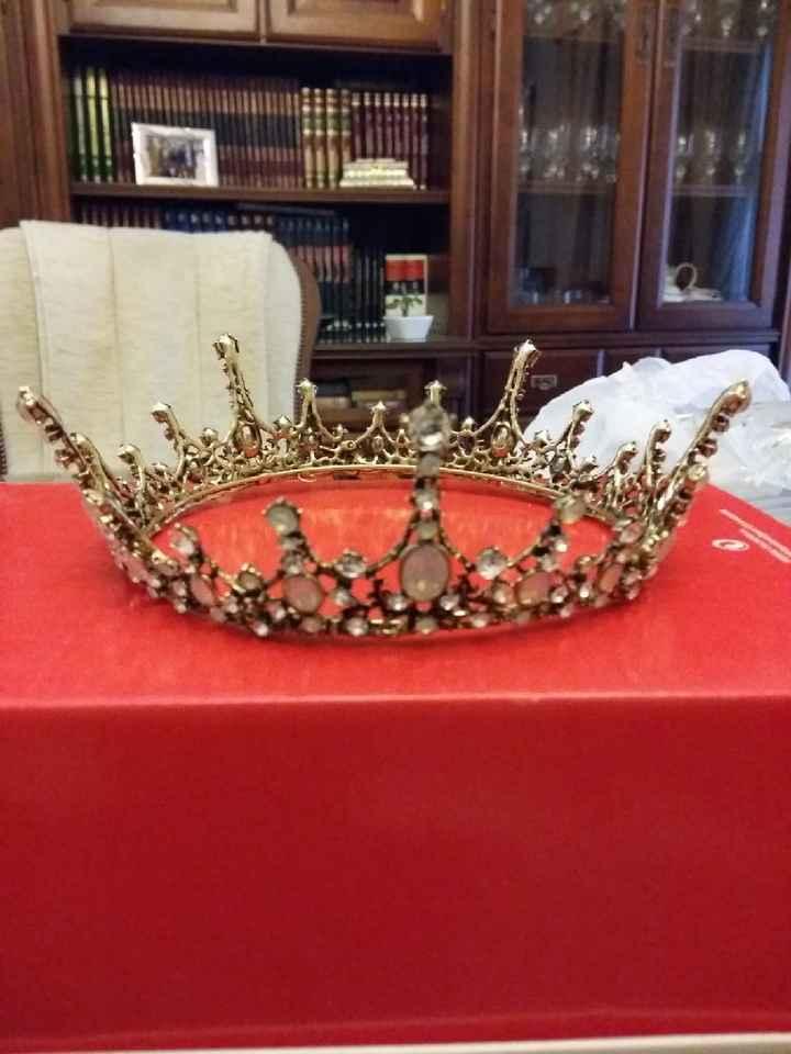 Llegó mi corona d Ali!! - 2