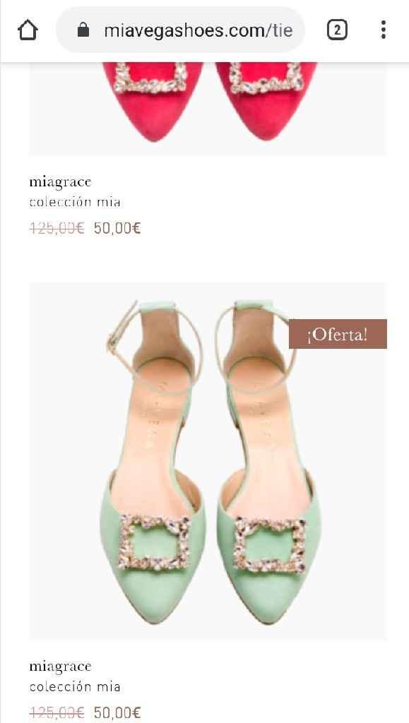 Zapato plano color - 1