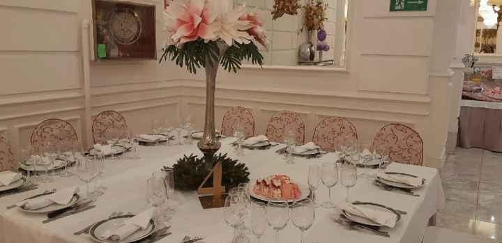El banquete colocado - 5