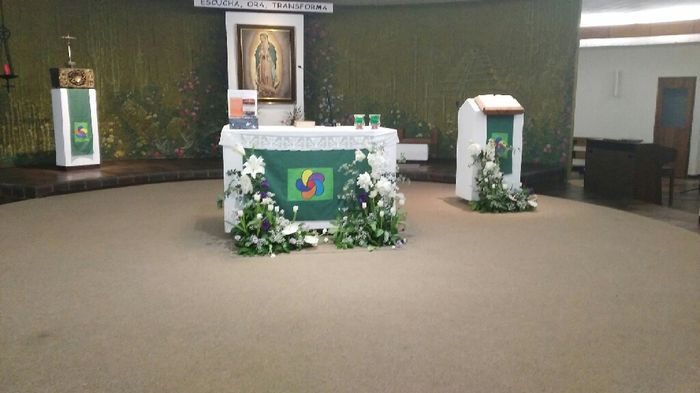 Decoración floral altar - 1