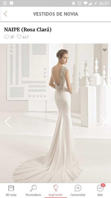Vestido de pronovias al gusto - 2