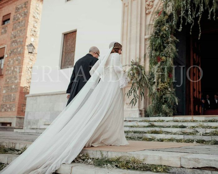 rosmelia boda cayetana ferrer - moda nupcial - foro bodas