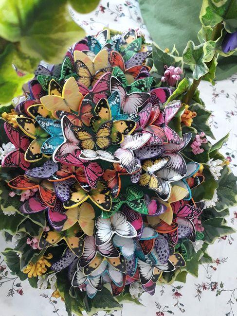 Alfileres de mariposas - 2