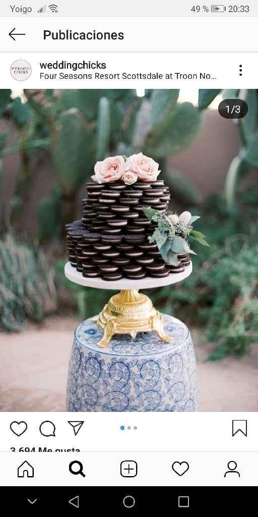 Como será vuestra tarta de boda? - 1