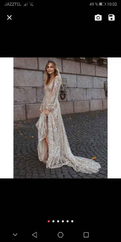Vestido pre boda - 1