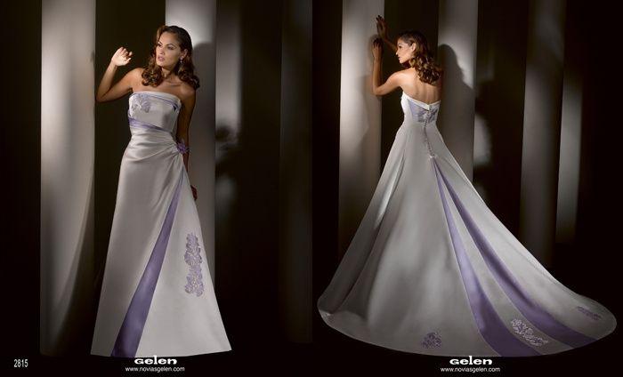 Gelen novias vestidos de fiesta