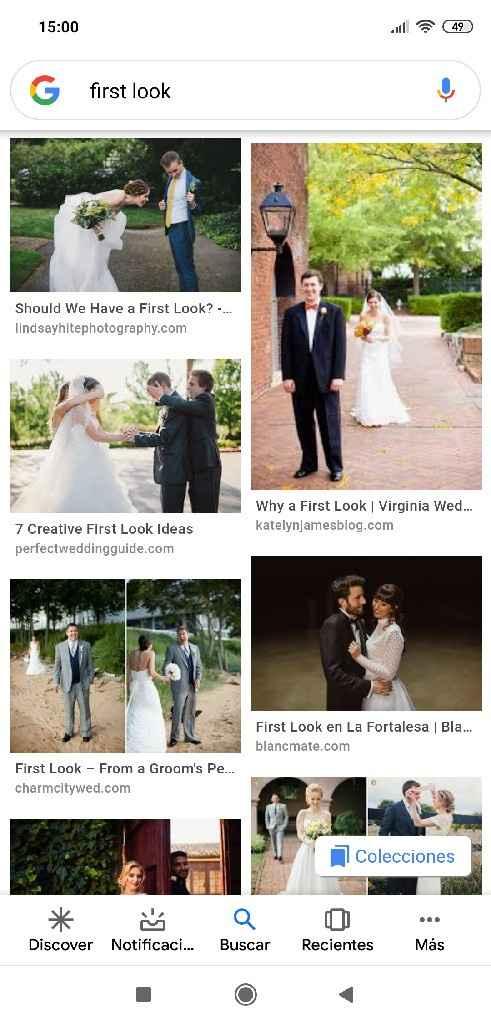 Fotos de novios antes de la ceremonia en vez de después - 2