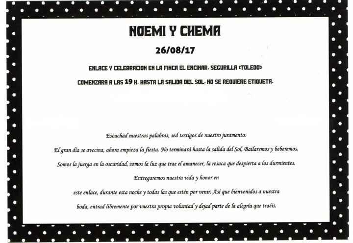Mis invitaciones 💕 - 2