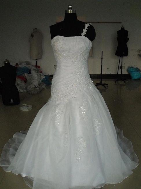 vestidos de novia desde china muy baratos - moda nupcial - foro
